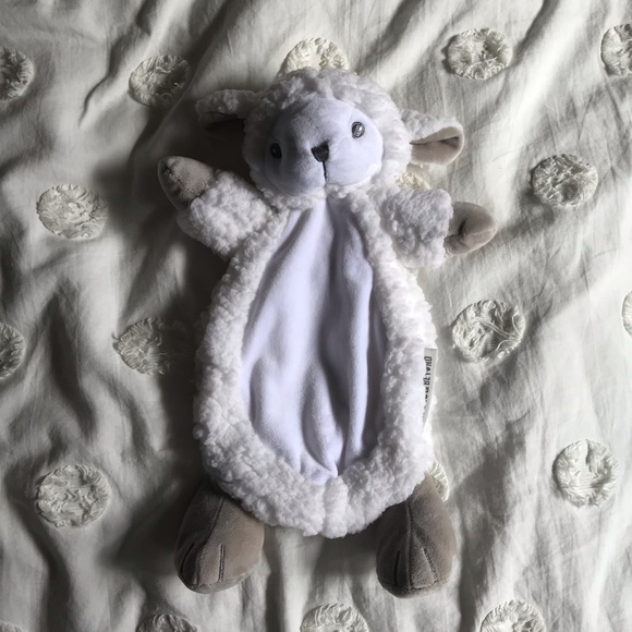 Blankets and Beyond Other - New - Blankets and Beyond Lamb Lovie